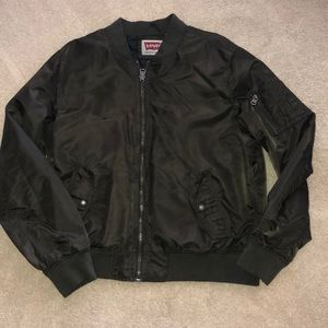 Levi's Men's Bomber Jacket Dark Olive sz L